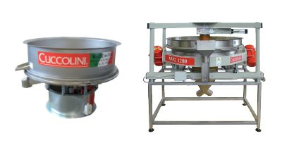 VIBRATING SIEVES FOR LIQUIDS AND POWDERS