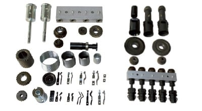 ROLLER DRIVE SYSTEMS, BUSH ASSEMBLY, BEARINGS, SPRINGS AND BUSHINGS